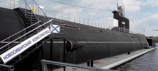 Посетили музей ВМФ в Москве